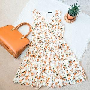 Suzy Shier floral-print sundress☀